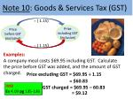 note 10 goods services tax gst2