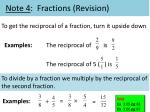 note 4 fractions revision2