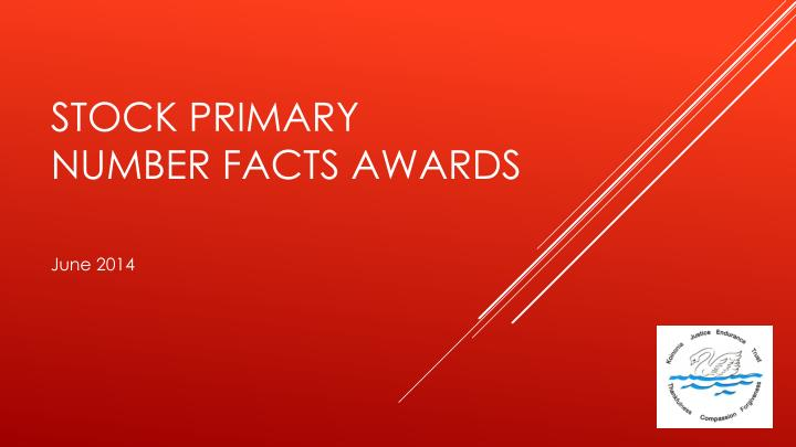 stock primary number facts awards n.