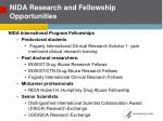 nida research and fellowship opportunities1