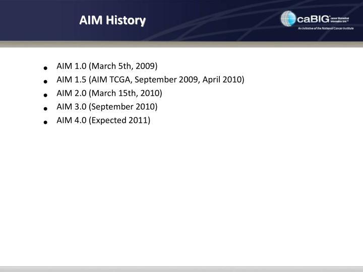 AIM History