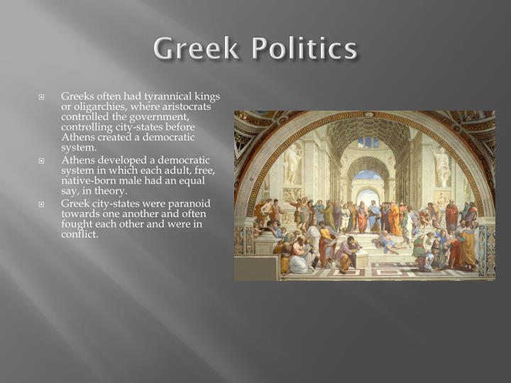 Greek Politics