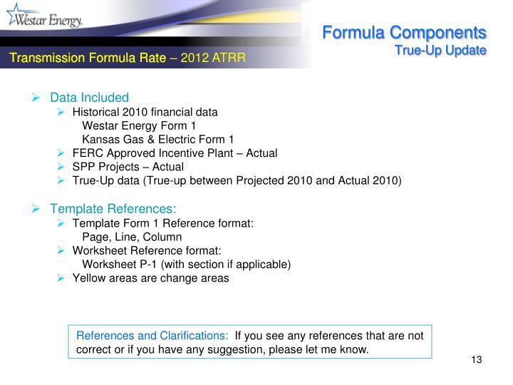 Formula Components