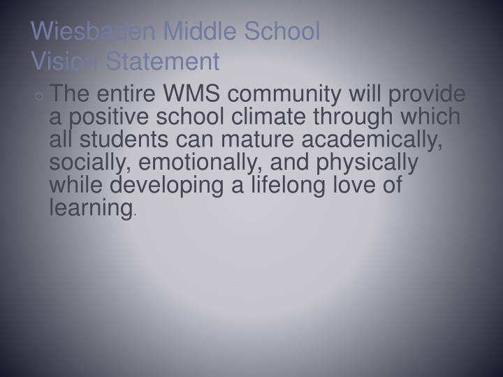 Wiesbaden Middle School