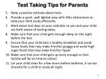 test taking tips for parents1