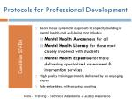protocols for professional development