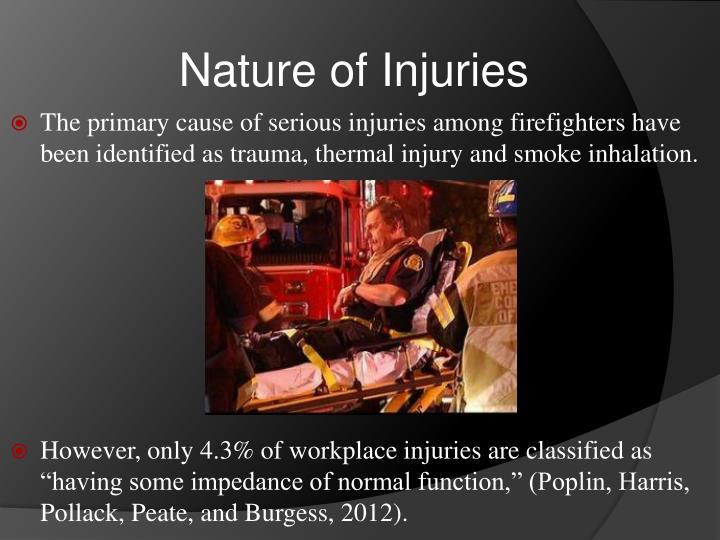 Nature of Injuries