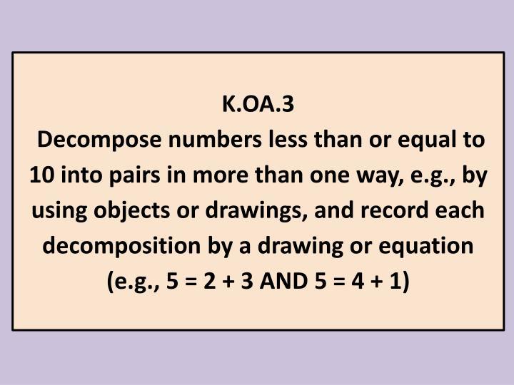 K.OA.3