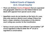 federal courts of appeals u s circuit courts