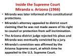 inside the supreme court miranda v arizona 19661