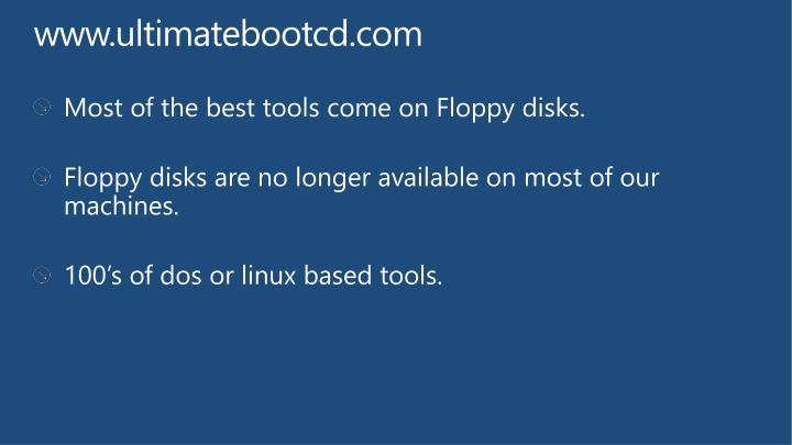 Www ultimatebootcd com