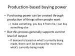 production based buying power