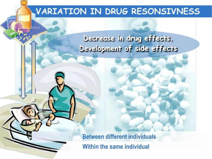 VARIATION IN DRUG RESONSIVNESS