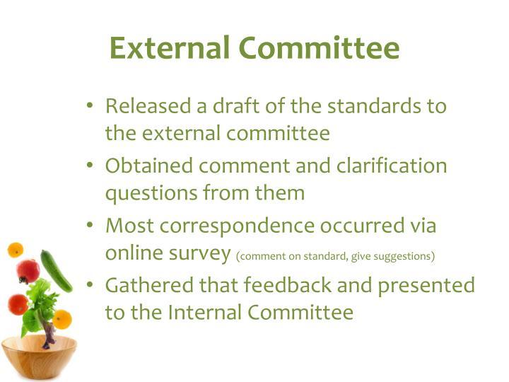 External Committee