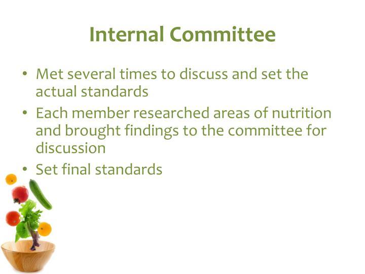 Internal Committee