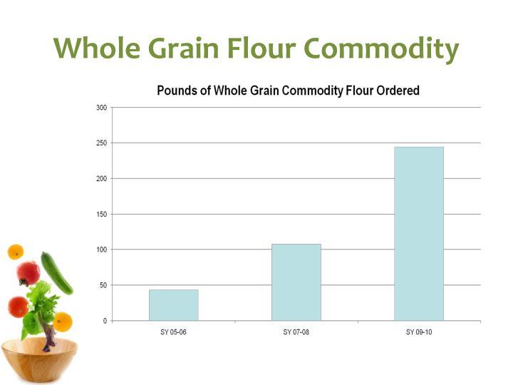 Whole Grain Flour Commodity