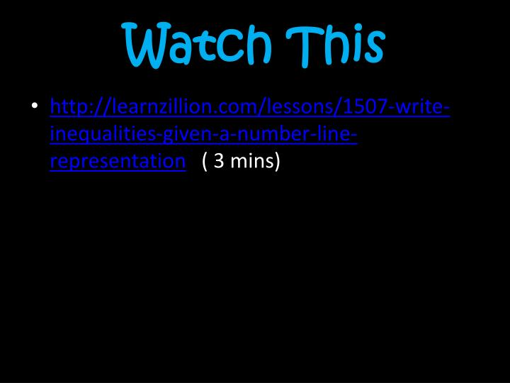 Watch This