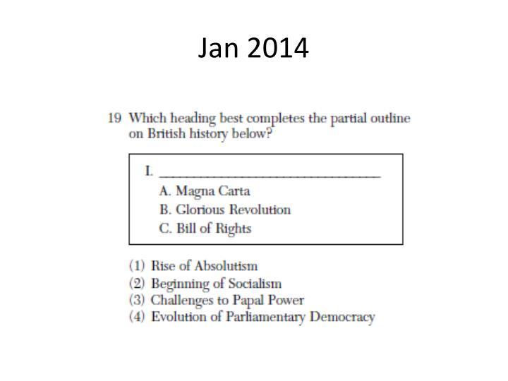 Jan 2014