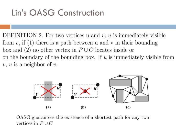 Lin's OASG Construction
