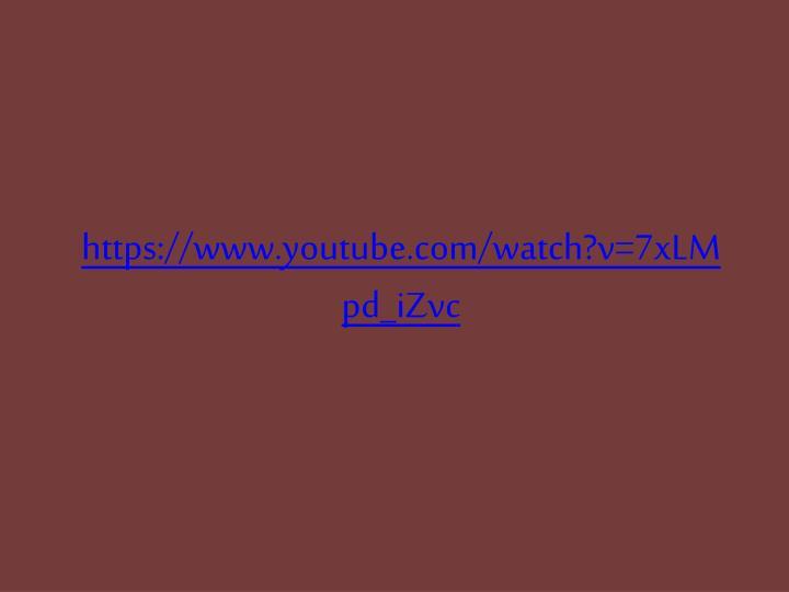 https://www.youtube.com/watch?v=7xLMpd_iZvc