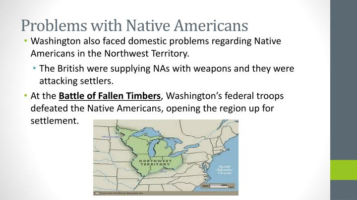 Problems with Native Americans