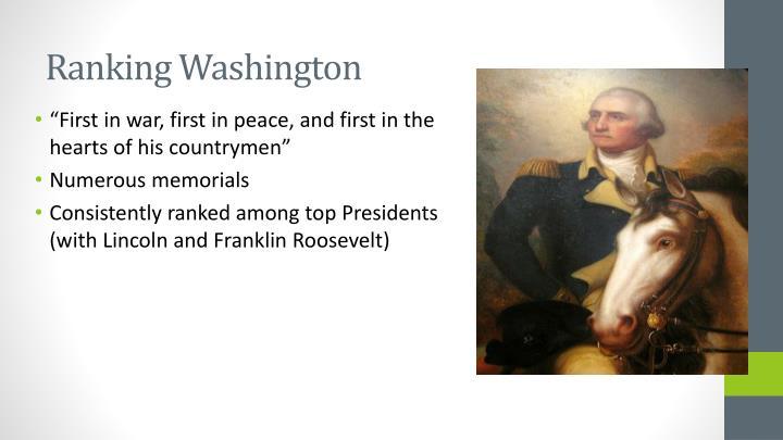 Ranking Washington