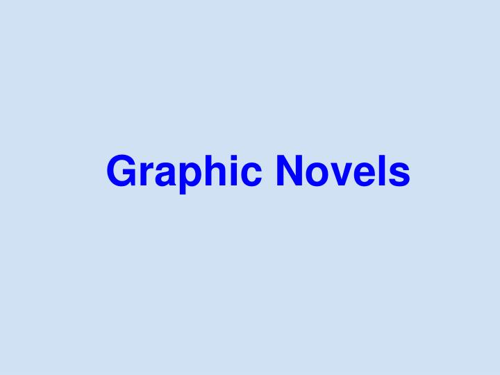 graphic novels n.