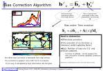bias correction algorithm