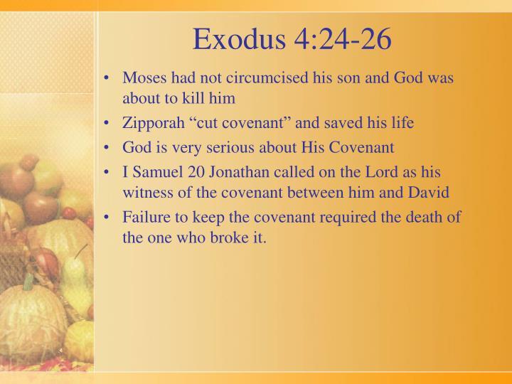 Exodus 4 24 26