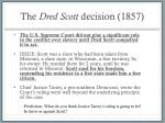 the dred scott decision 1857