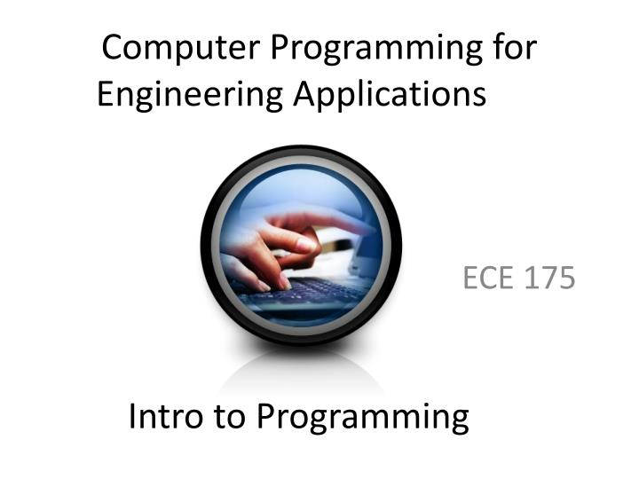 computer programming for engineering applications n.