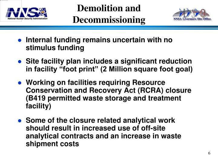 Demolition and