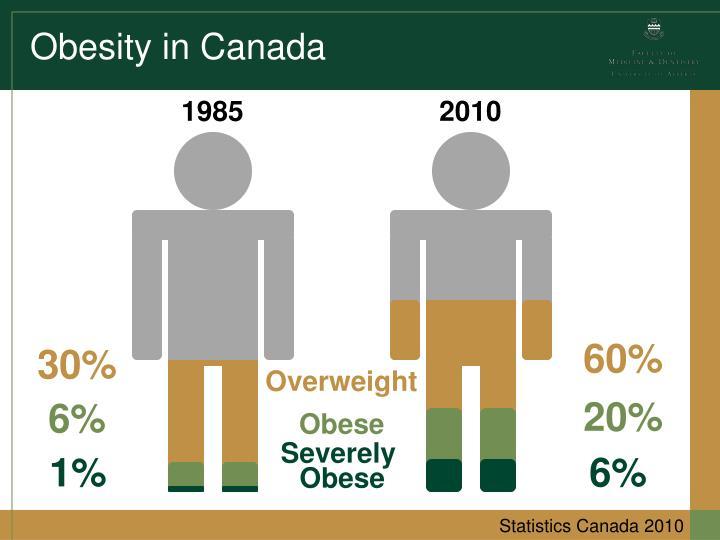 Obesity in canada