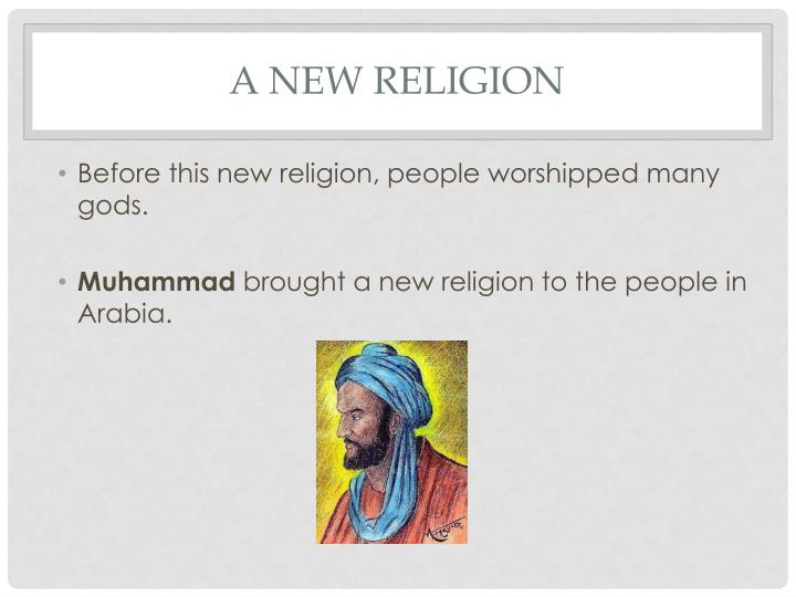 A New Religion