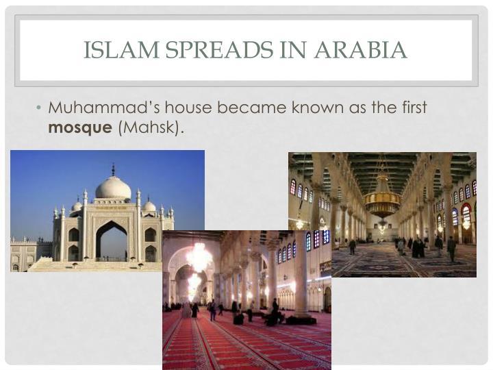 Islam Spreads in Arabia
