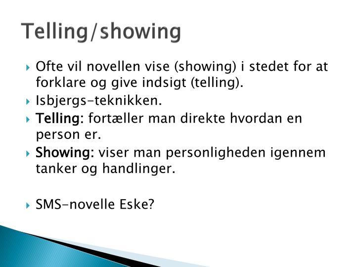Telling/