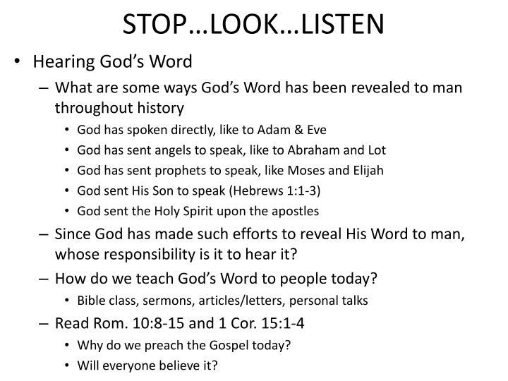Stop look listen1