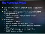 the numerical model