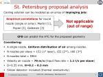 st petersburg proposal analysis2