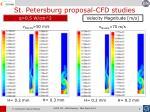 st petersburg proposal cfd studies1