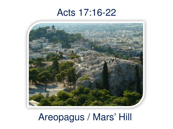 acts 17 16 22