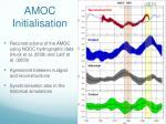 amoc initialisation