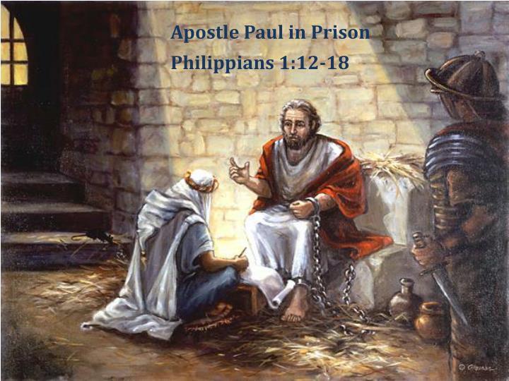 Apostle Paul in Prison