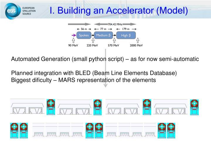 I. Building an Accelerator (Model)