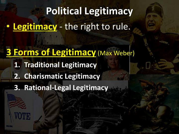 Political legitimacy1