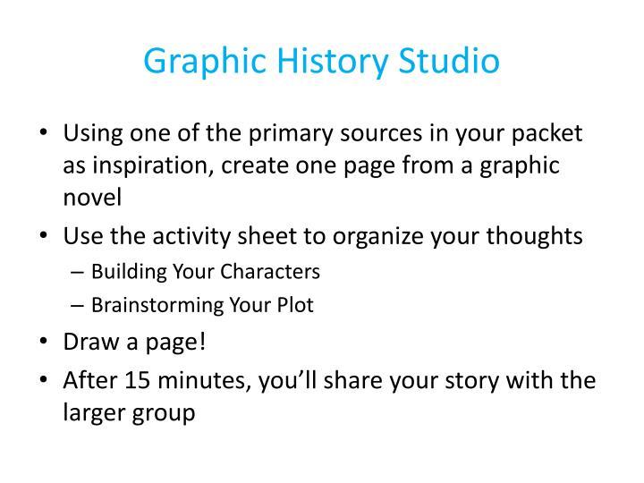 Graphic History Studio
