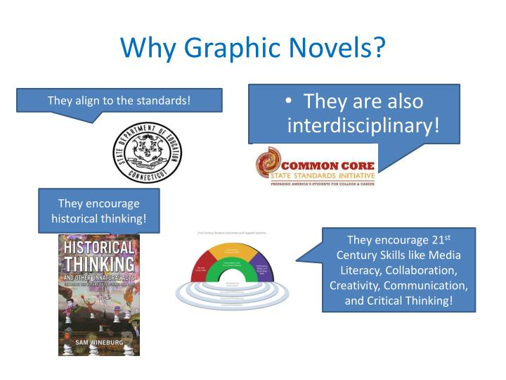 Why graphic novels