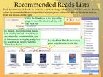 recommended reads lists2