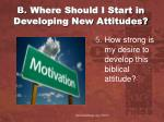 b where should i start in developing new attitudes2