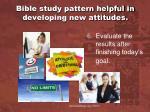 bible study pattern helpful in developing new attitudes2